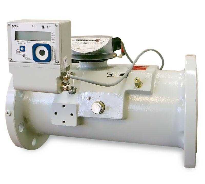 Комплекс для измерения количества газа СГ-ТК-Т-400/1,6 СГ-16МТ-400