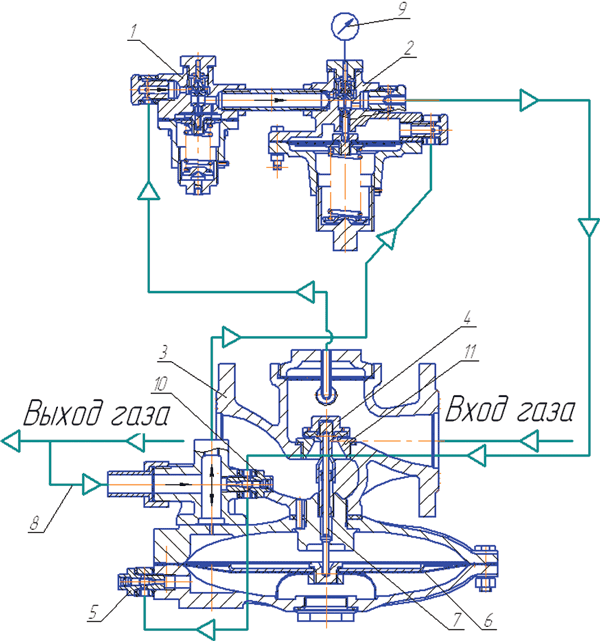 Рисунок 2. Схема соединения