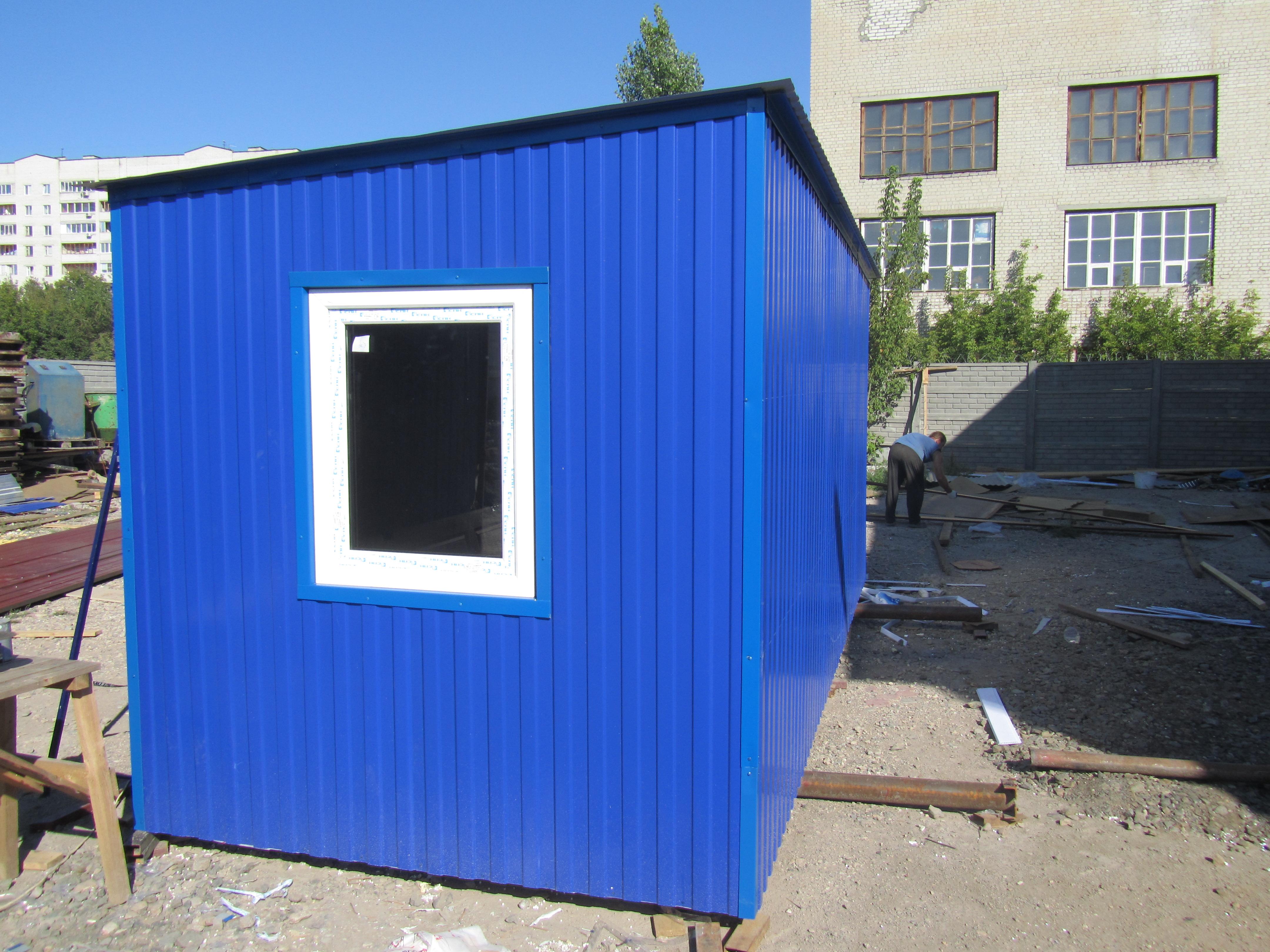 Блок контейнер пошаговая инструкция